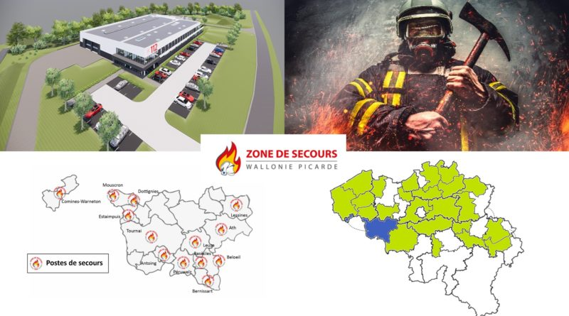 Firefighting zone Wallonie Picarde chooses VERDI-FIRE